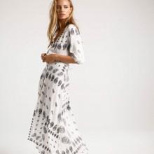 Белое платье макси