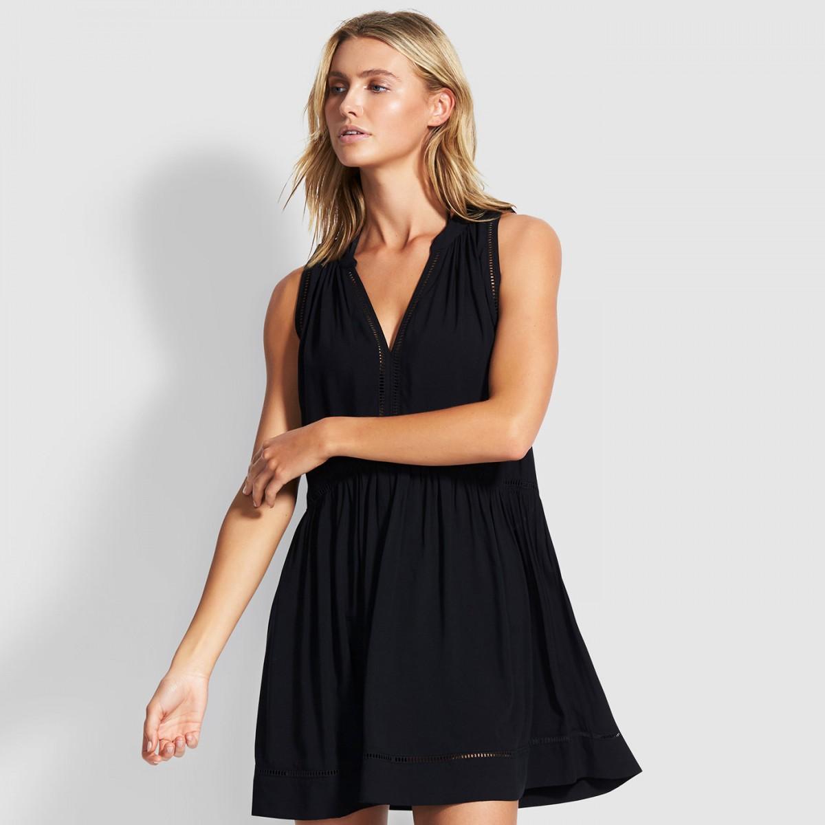 Черное платье Chess