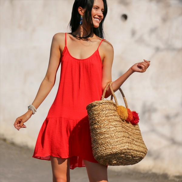 Красное платье Chili