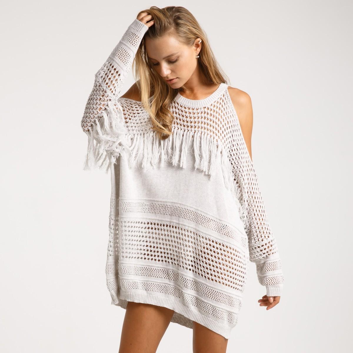 Пляжное платье с бахромой купить интернет