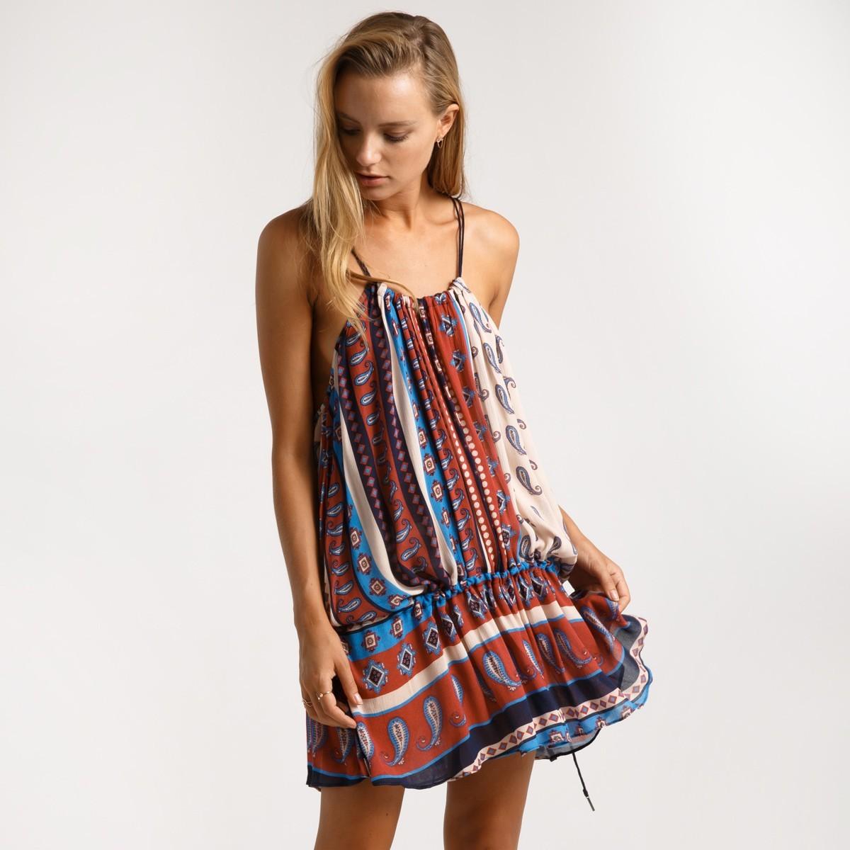 Короткое шифоновое пляжное платье Suboo Australia